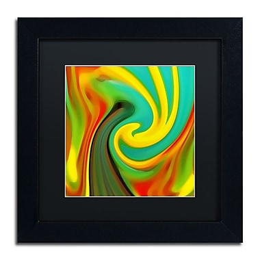 Trademark Fine Art Amy Vangsgard 'Abstract Flower Unfurling Square 1' 11