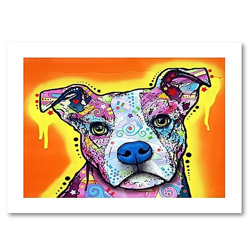 "Trademark Fine Art Dean Russo 'A Serious Pit' 18"" x 24"" Paper Rolled (190836152872)"