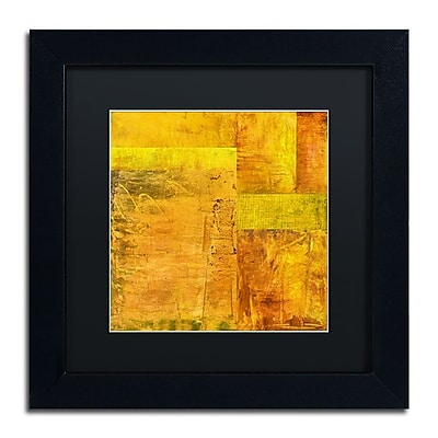 Trademark Fine Art Michelle Calkins 'Essence of Yellow 2' 11