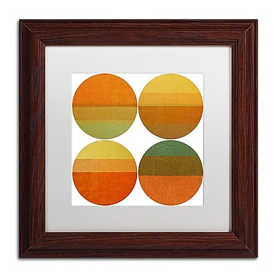 Trademark Fine Art Michelle Calkins 'Four Suns' 11