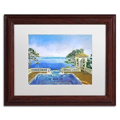 Trademark Fine Art David Lloyd Glover 'Cap Martin, Monaco' 11