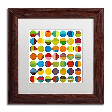 Trademark Fine Art Michelle Calkins 'Forty Nine Circles' 11