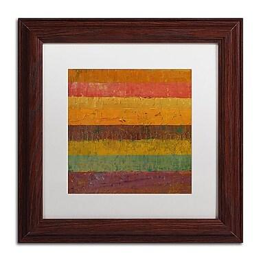 Trademark Fine Art Michelle Calkins 'Orange Line' 11
