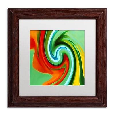 Trademark Fine Art Amy Vangsgard 'Abstract Flower Unfurling Square 2' 11