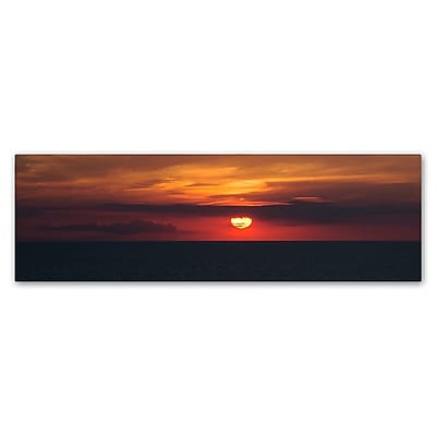 Trademark Fine Art Kurt Shaffer 'Classic Great Lake Sunset' 6