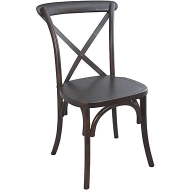 Advantage Walnut X-back Chairs (X-BACK-W-EC-2)
