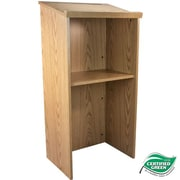 Advantage Oak Wood Classroom Lectern (LECTERN-OAK)