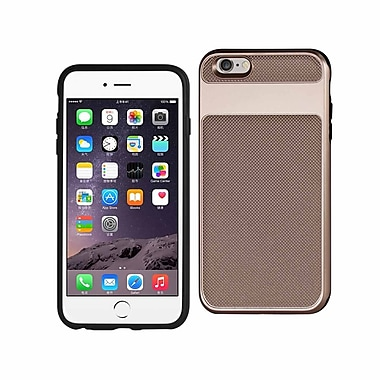 iPhone 6S Plus Hybrid Solid Armor Bumper Case Rose Gold