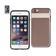 iPhone 6s Hybrid Solid Armor Bumper Case Rose Gold
