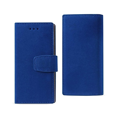 iPhone 7 Wallet Case With RFID Card Protection Navy