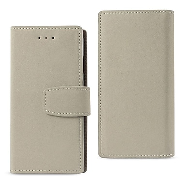 iPhone 7 Wallet Case With RFID Card Protection Gray