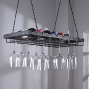 Wine Enthusiast 5702510 Metal Hanging Wine Glass Rack