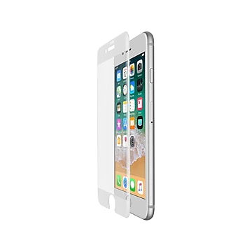 Belkin ScreenForce TemperedCurve Protector for iPhone 7 Plus/iPhone 8 Plus, Each (F8W855zzWHT)
