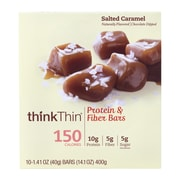 thinkThin Salted Caramel Protein Bar, 1.41 oz, 10 Count (307-00112)