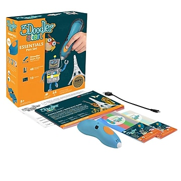 3Doodler Start Essential 3D Printing Pen Set (3DSESSTMULTIR17)