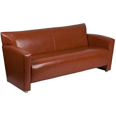 HERCULES Majesty Series Cognac Leather Sofa (2223CG)