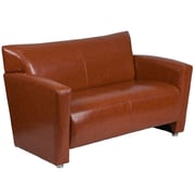 HERCULES Majesty Series Cognac Leather Loveseat (2222CG)
