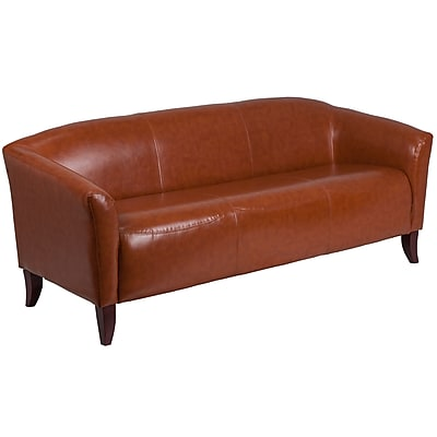 HERCULES Imperial Series Cognac Leather Sofa (1113CG)