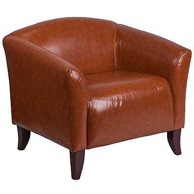 HERCULES Imperial Series Cognac Leather Chair (1111CG)