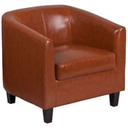 Cognac Leather Office Guest Chair Reception Bt873cg