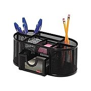Rolodex Pencil & Accessory Holder, Black Steel (1746466)