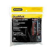 Stanley DualMelt Permanent Glue Sticks, 24/Pack (GS20DT)