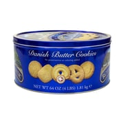 Royal Dansk Danish Butter Cookies, Butter, 64 Oz. (220-00574)