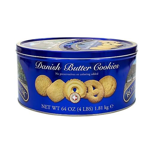Royal Dansk Danish Butter Cookies, Butter, 64 Oz. (220-00574)
