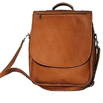 David King & Co Vertical Expandable Portfolio-Backpack-
