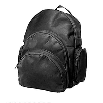 David King & Co Expandable Backpack- Black(DVDK043)