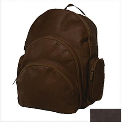 David King & Co Expandable Backpack- Cafe(DVDK044)