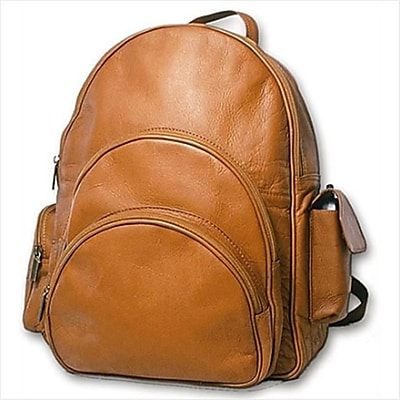 David King & Co Expandable Backpack- Tan(DVDK045)