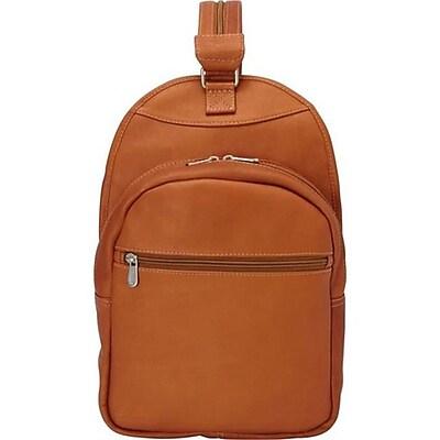 Piel Leather Slim Adventurer Sling Bag Backpack