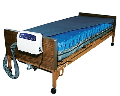 """""""""""Drive Medical Med Aire Plus Low Air Loss Mattress Replacement System, 84"""""""""""""""" x 36"""""""""""""""""""""""""""" 2698281"""