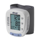 Drive Medical Automatic Blood Pressure Monitor, Wrist Model