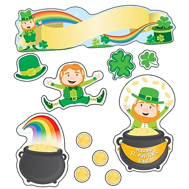Carson-Dellosa St. Patrick's Day Mini Bulletin Board Set Seasonal (110351)