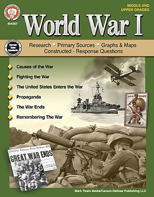 World War I, Grades 6 - 12 Paperback (404267)