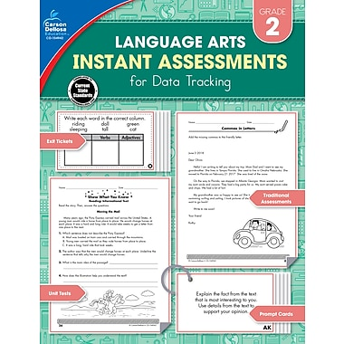 Carson-Dellosa Instant Assessments for Data Tracking, Grade 2 Paperback (104942)