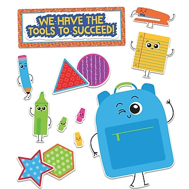 Carson-Dellosa Publishing Bulletin Board Set School Tools (110355)