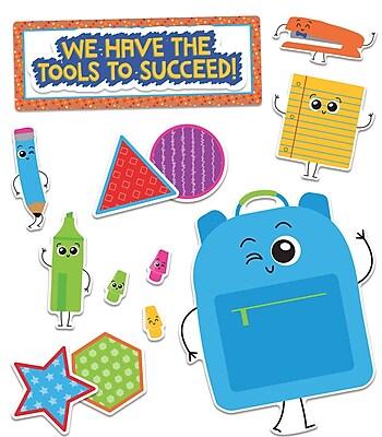 Carson-Dellosa Publishing Bulletin Board Set School Tools (110355)