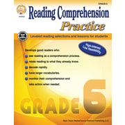 Reading Comprehension Practice, Grade 6 Paperback (404256)