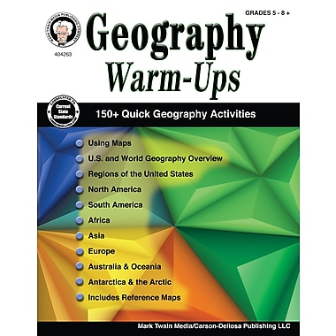 Geography Warm-Ups, Grades 5 - 8 Paperback (404263)