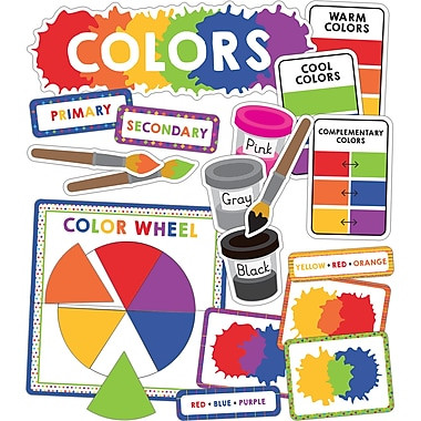 Carson-Dellosa Colors Mini Bulletin Board Set (110350)