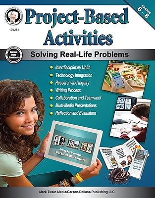 Project-Based Activities, Grades 6 - 8 Paperback (404254)