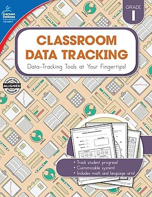 Carson-Dellosa Resource Book Classroom Data Tracking Grade 1 160 pages (104917)