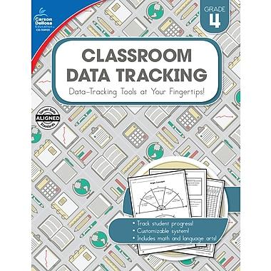 Carson-Dellosa Resource Book Classroom Data Tracking Grade 4 160 pages (104920)