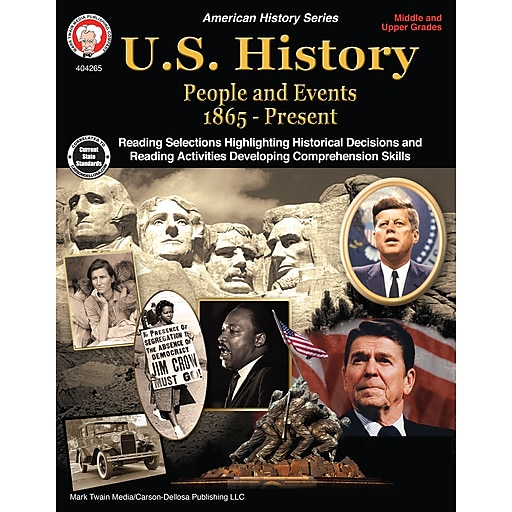 U.S. History, Grades 6 - 12 Paperback (404265)