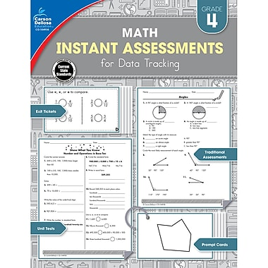 Carson-Dellosa Instant Assessments for Data Tracking, Grade 4 Paperback (104938)