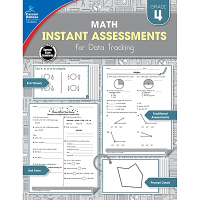 Instant Assessments for Data Tracking, Grade 4 Paperback (104938)