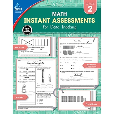 Instant Assessments for Data Tracking, Grade 2 Paperback (104936)